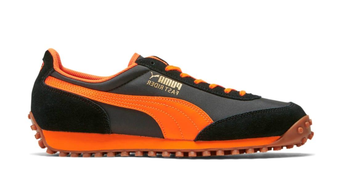 Puma Fast Rider OG Puma Black-Vibrant Orange