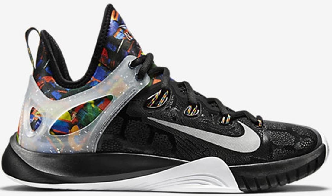 check out bf9c9 49790 Nike Zoom HyperRev 2015 Premium NCS Multi-Color Black-Reflect Silver