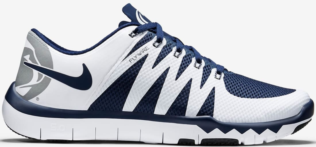 new arrival ad187 f9ec3 Nike Free Trainer 5.0 V6 Amp College Navy/White | Nike ...