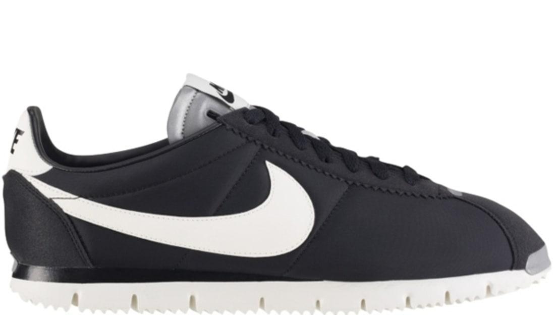 new product 46bc4 13b92 Nike Cortez NM QS Black Sail-Metallic Silver-Black