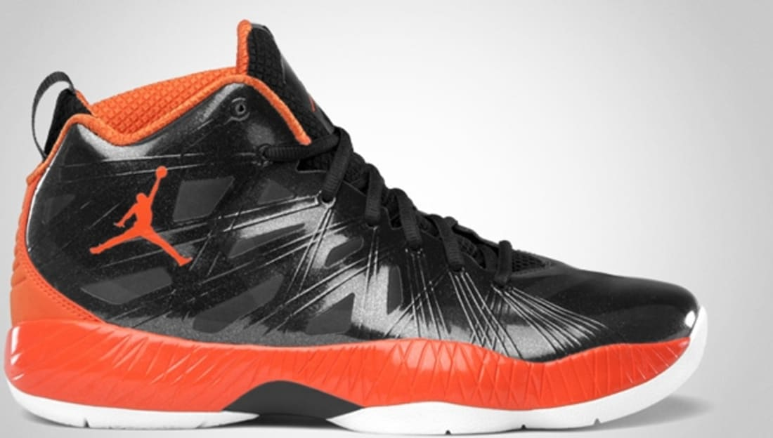 Air Jordan 2012 Lite Black/Blaze Orange-White