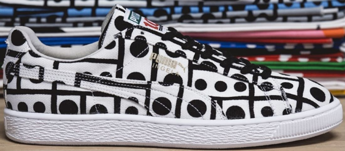 Puma Suede White/Black