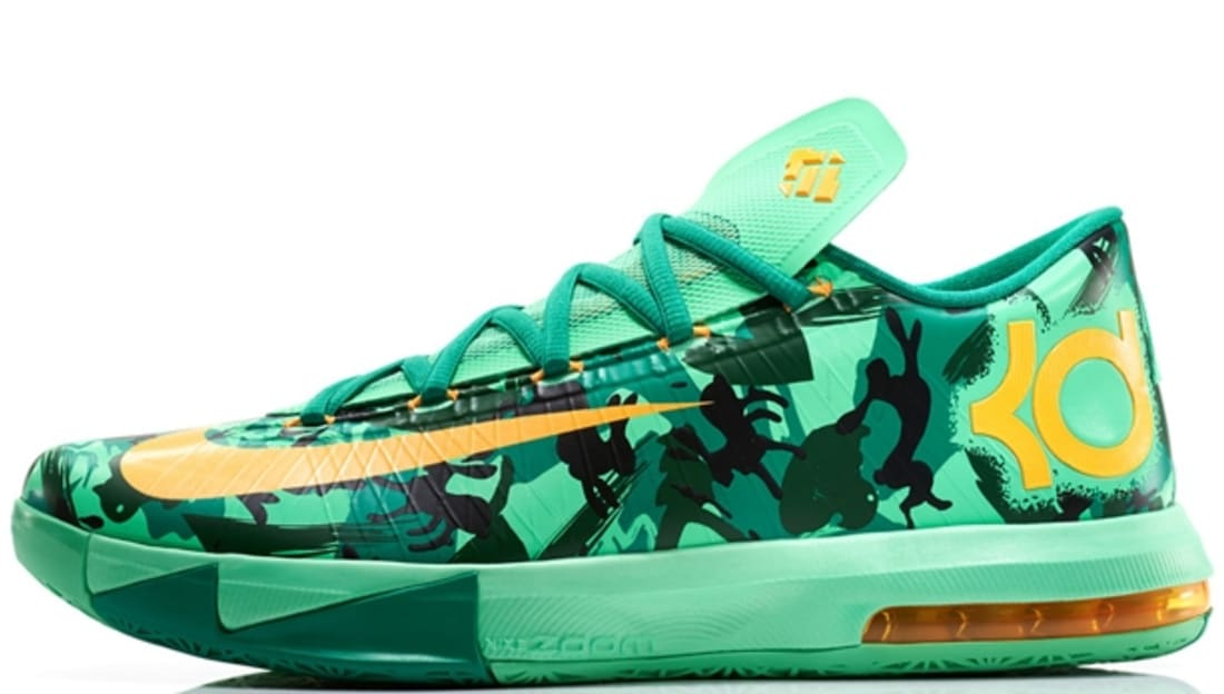 2aafc8442d82 Nike · Nike KD · Nike KD 6 (VI). Nike KD VI Light Lucid Green Atomic Mango- Light ...