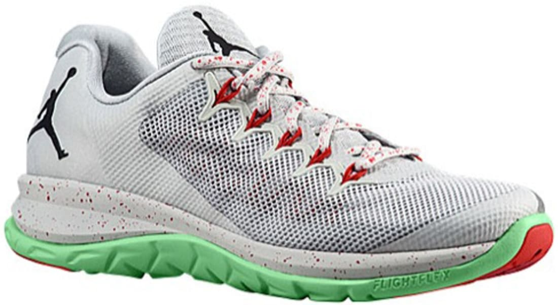Jordan Flight Runner 2 Light Silver/True Red-White-Tourmaline