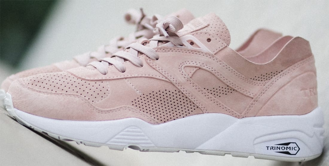 puma trinomic r698 soft pack rose