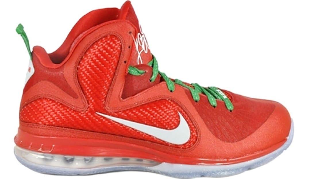 Lebron Christmas Edition.Nike Lebron 9 Christmas Nike Sole Collector