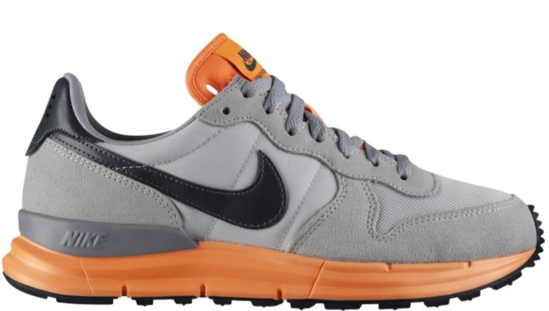 official photos 64c59 25861 Nike Lunar Internationalist Light Base Grey Dark Grey-Atomic Orange