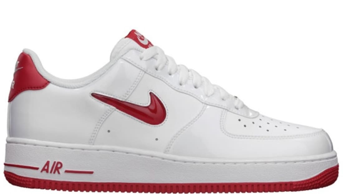 Nike Air Force 1 Low White/University Red