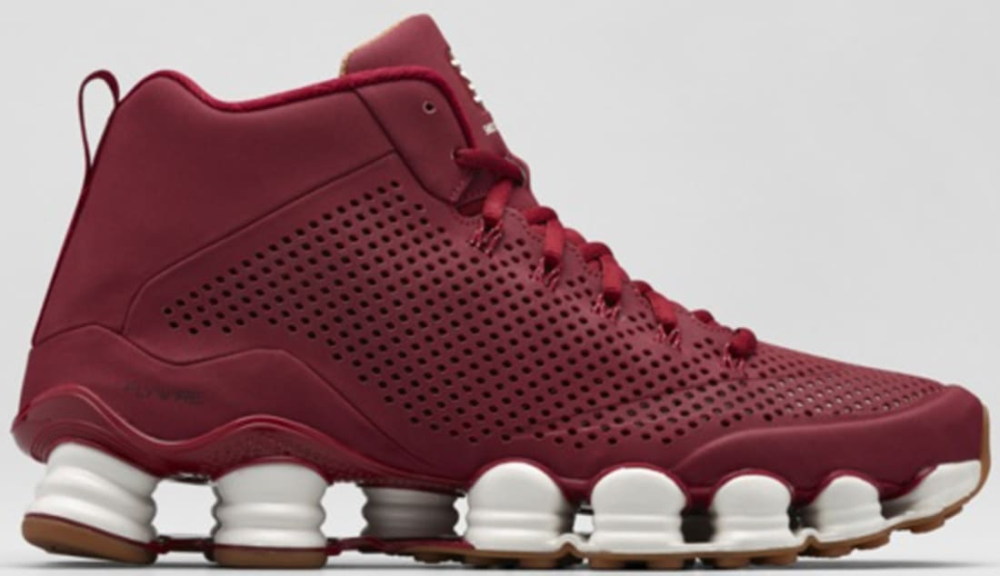 newest ab1cf 2aa01 Nike Shox TLX Mid SP Team Red/Team Red-Sail | Nike | Sole ...