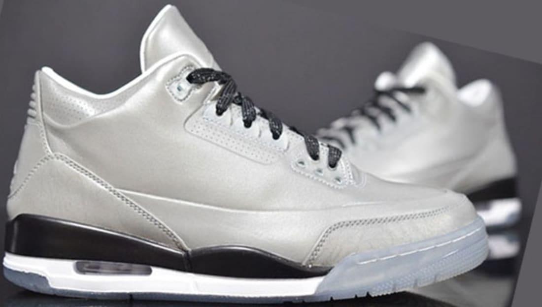 Air Jordan 5Lab3 Reflect Silver/Reflect Silver-Black-White