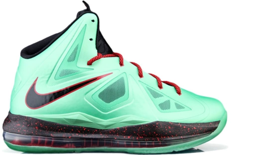 Nike Lebron X+ Cutting Jade China