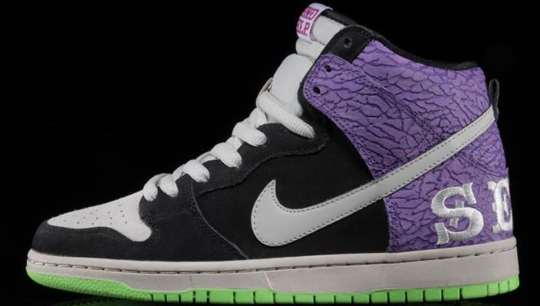 Nike Dunk High Premium SB Black/Mortar-Dark Raspberry