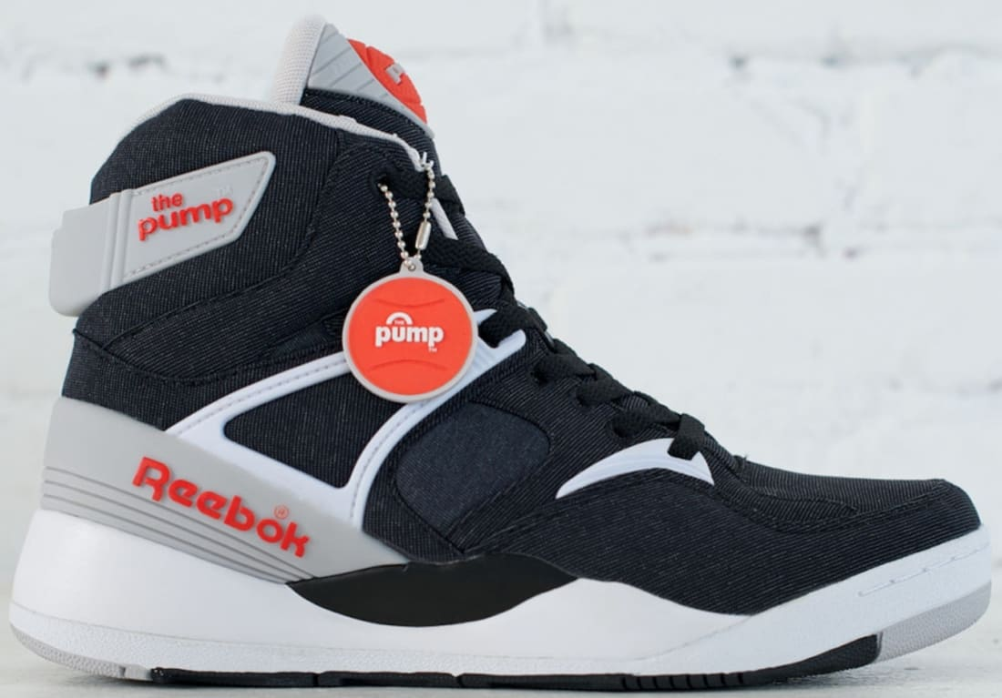 Reebok The Pump Certified Black/Steel-Orange