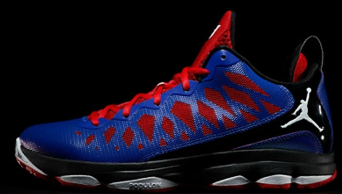 9861943a7b2 Jordan CP3.VI Game Royal White-Black-Sport Red