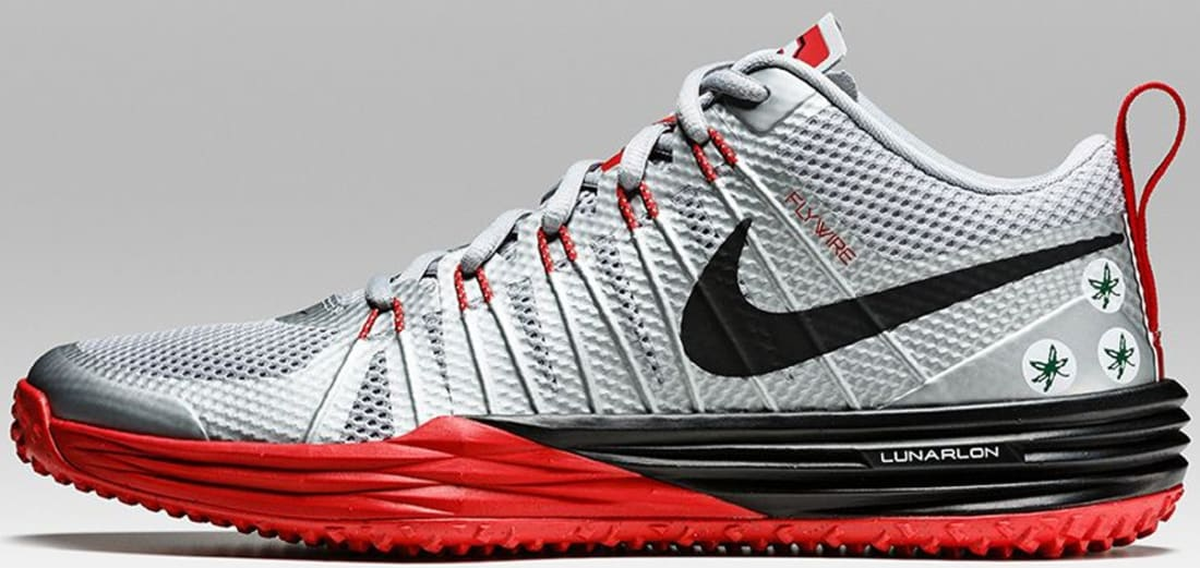 Nike Lunar TR1 Wolf Grey/University Red-White-Black