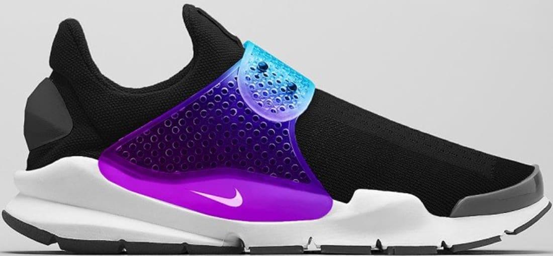 Nike Sock Dart SP Black/Rainbow-White