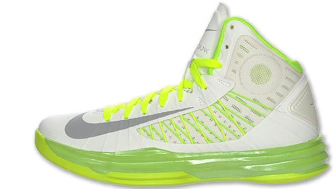 on sale 13ee0 85965 Nike Lunar Hyperdunk 2012+ Summit White Wolf Grey-Electric Green-Liquid Lime