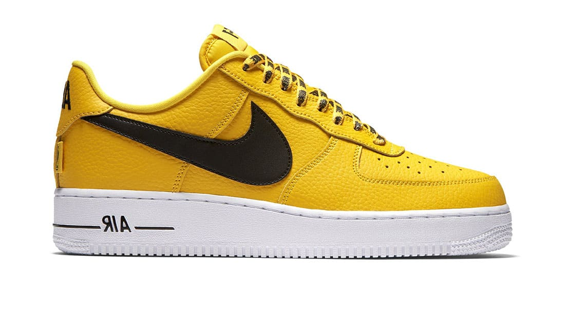 Nba X Nike Air Force 1 Low Yellow Nike Sole Collector