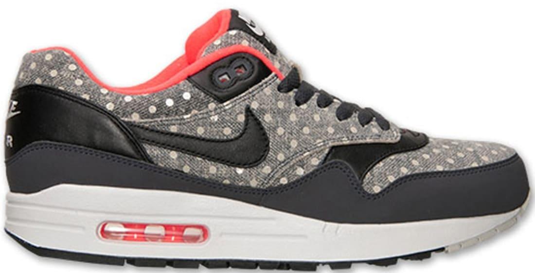 Nike Air Max 1 Leather Premium Anthracite/Black-Granite | Nike ...