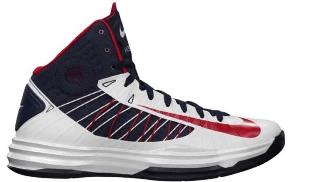 newest cc4be 7292a Nike Lunar Hyperdunk 2012+ White/University Red-Obsidian | Nike ...