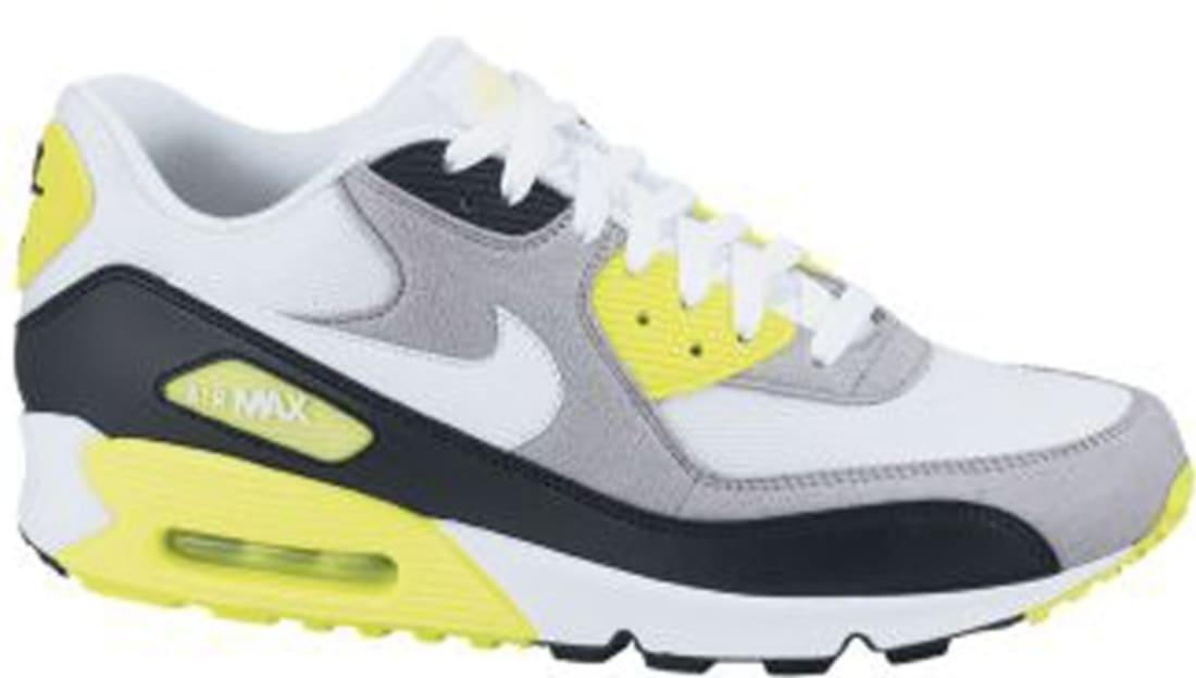 Nike Air Max '90 White/Cement Grey-Volt-Black
