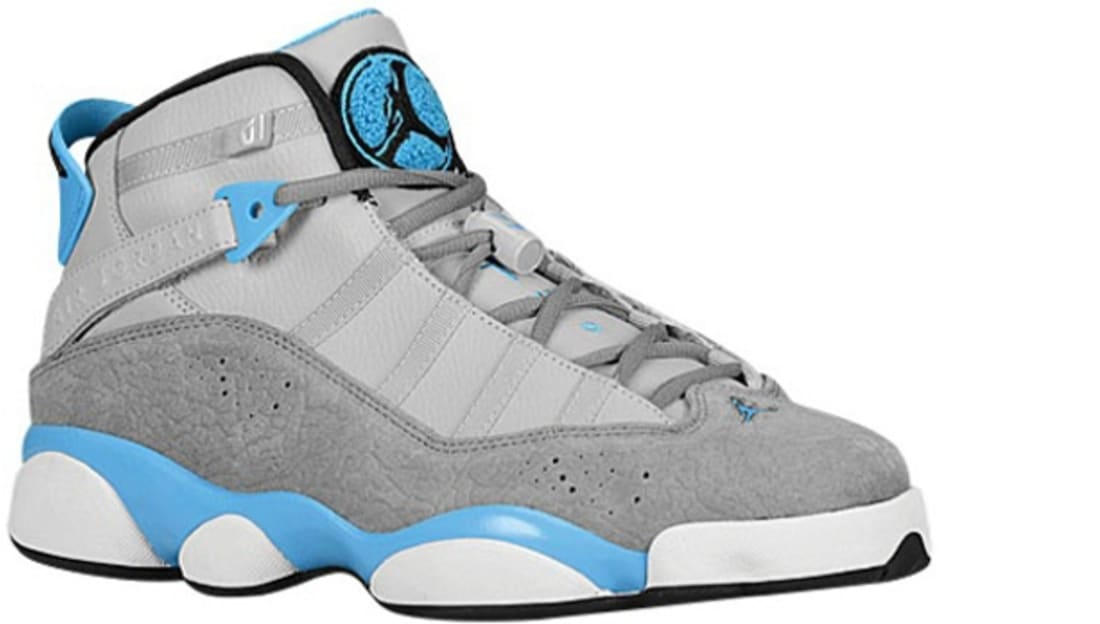 new product 85e3b 3ee54 ... uk jordan 6 rings wolf grey cool grey dark powder blue jordan sole  77dce 7a2a8