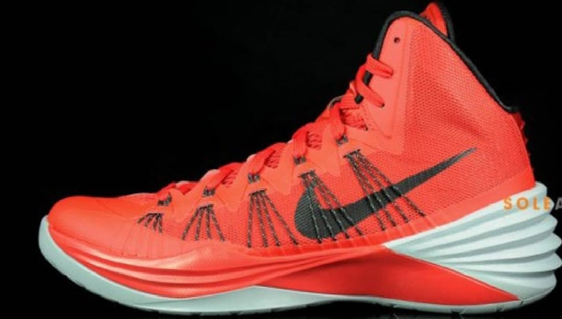 Nike Hyperdunk 2013 University Red/Black-Wolf Grey