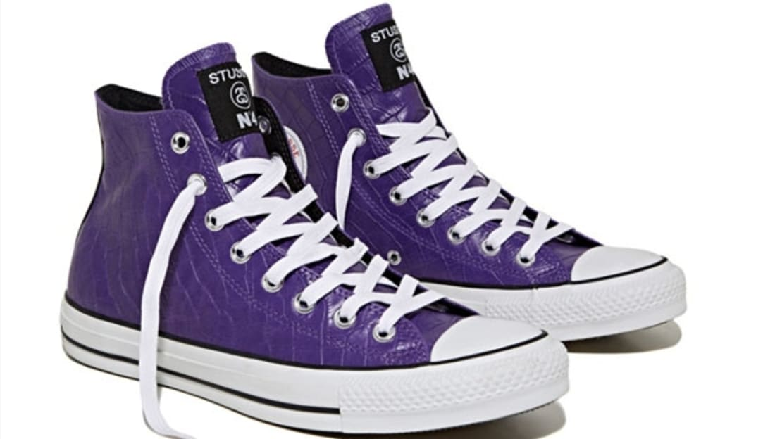 Converse Chuck Taylor All Star Hi Purple White  840676adf80b