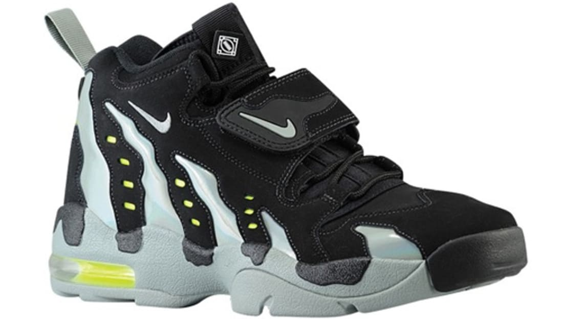 10dc71aa10d3 Nike Air DT Max  96 Black Mica Green-Volt