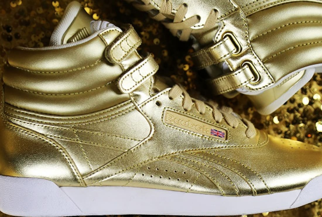 32501485c3d Villa x Reebok Freestyle High Pump Women s Gold