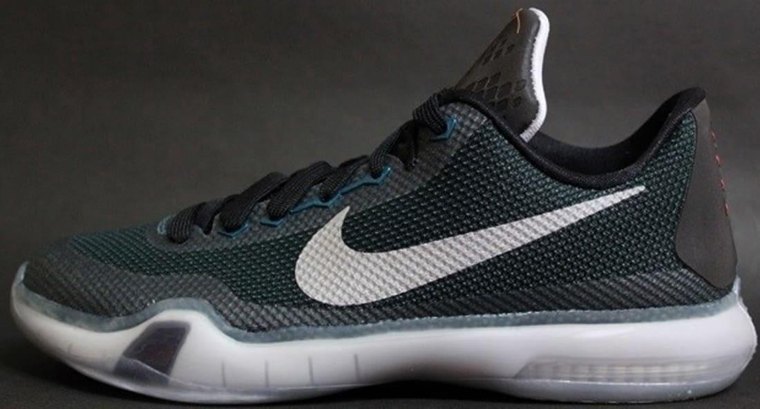 a3fa01818ffce Nike Kobe X Teal Black-Bright Citrus