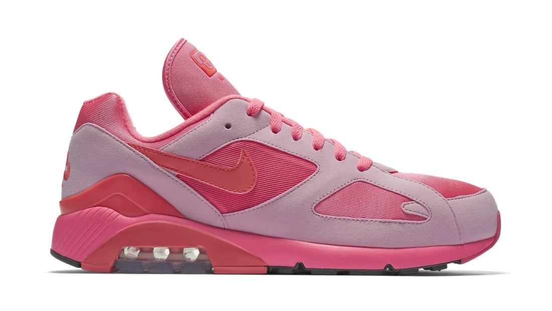 Nike · Nike Air Max · Nike Air Max 180. Nike Air Max 180 x Comme des  Garcons Laser Pink Solar Red-Pink Rise 182c5b775