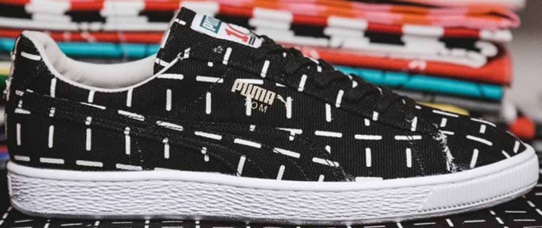 Puma Suede Black/White