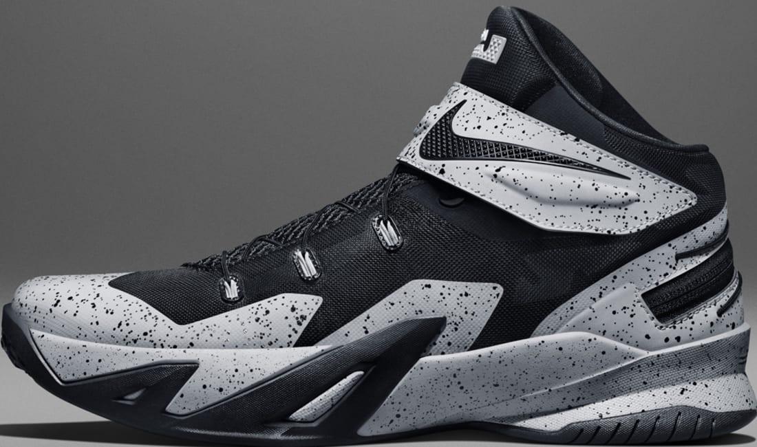 5e2eaab1eb6a Nike Zoom Soldier VIII Flyease Black Black-Wolf Grey