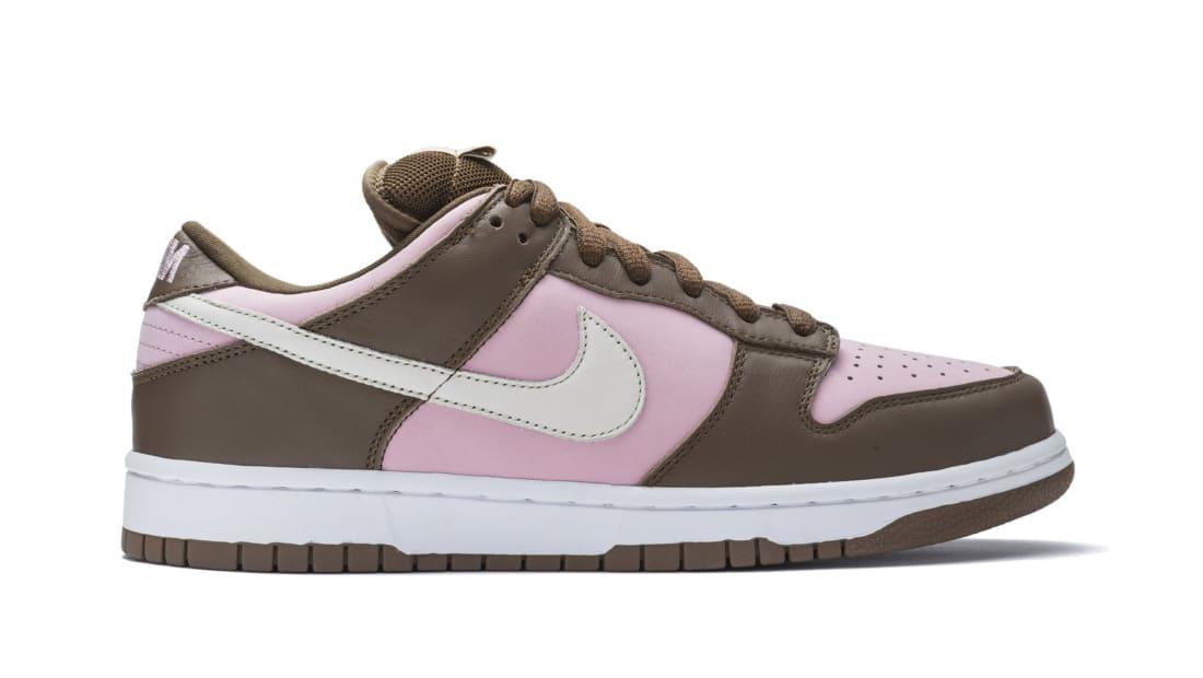 Stussy x Nike SB Dunk Low Shy Pink/Vanilla