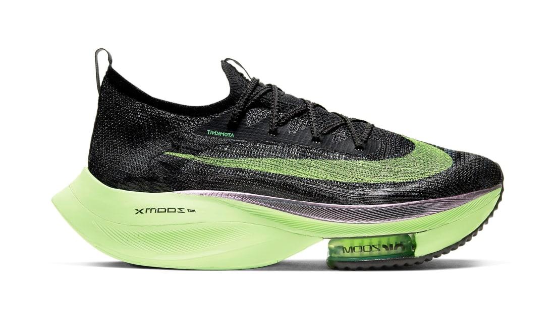 Nike Air Zoom Alphafly NEXT% Valerian Blue/Lime Blast-Black