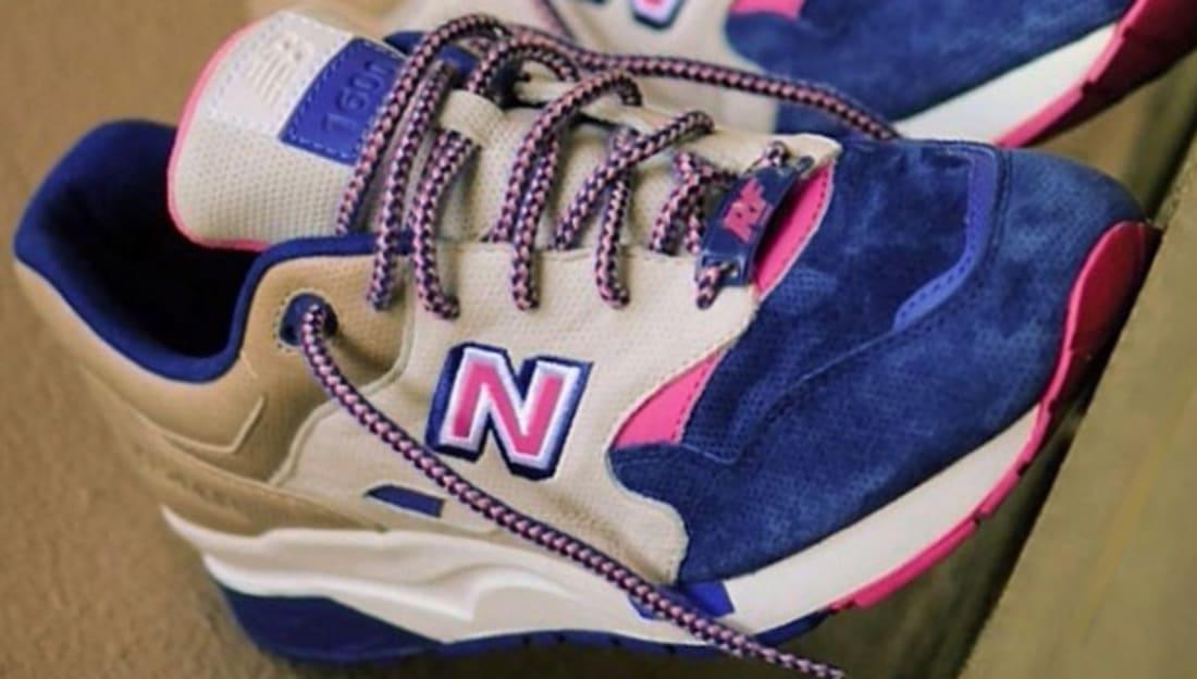 New Balance 1600 Tan/Cream-Pink-Navy