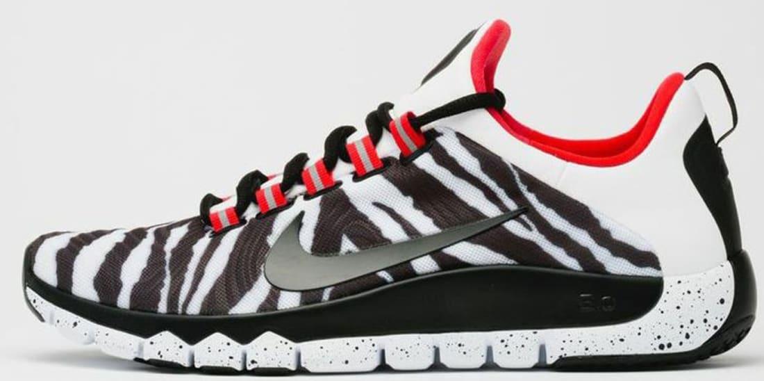 d8a2e2e2cafa Nike Free Trainer 5.0 NRG White Black-Challenge Red
