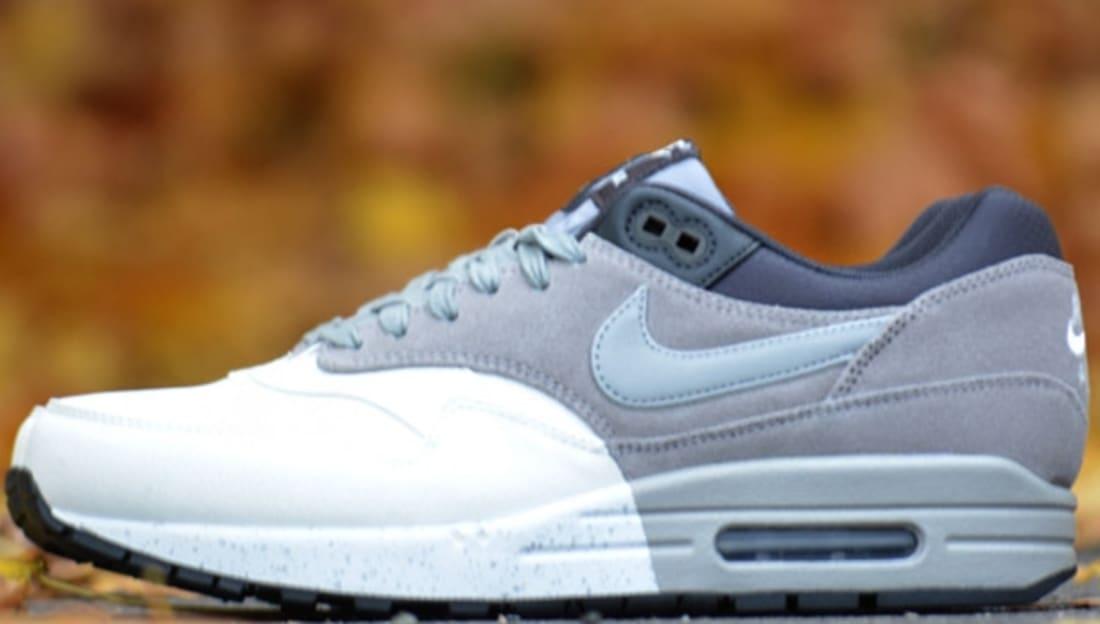 Nike Air Max 1 Premium Summit White/Medium Grey-Black-Dark Charcoal