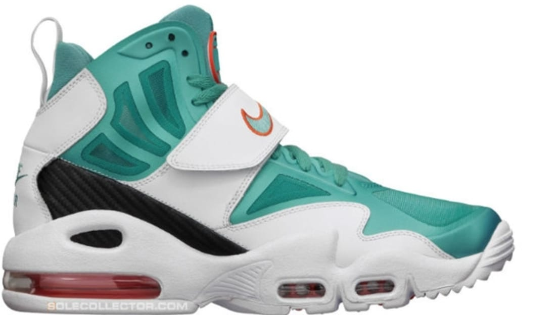 more photos 9155b 63fea Nike Air Max Express White Sport Turquoise-Team Orange
