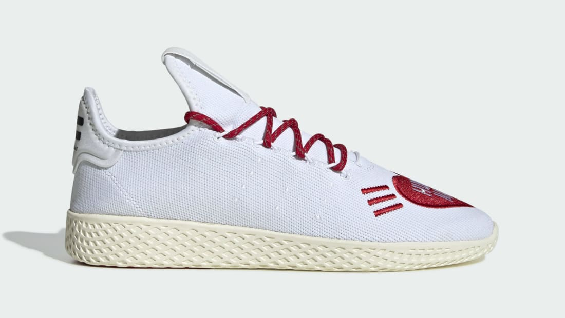 Human Made x Adidas Pharrell Tennis Hu White/Red