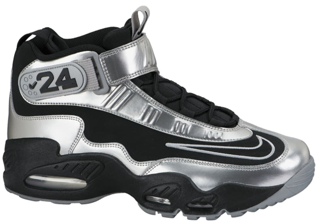 finest selection 0c0bf e0b98 Nike Air Griffey Max 1 Black Metallic Silver-Light Magnet Grey