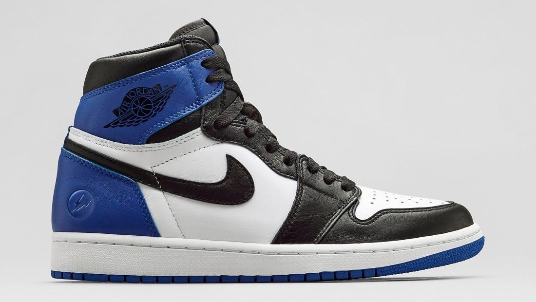 Fragment x Air Jordan 1 Retro High OG Black/Sport Blue-White