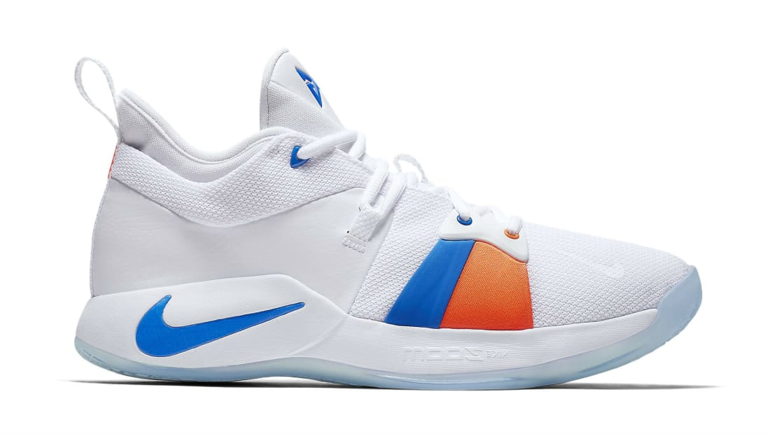 Nike PG2 White/Photo Blue (OKC Home)