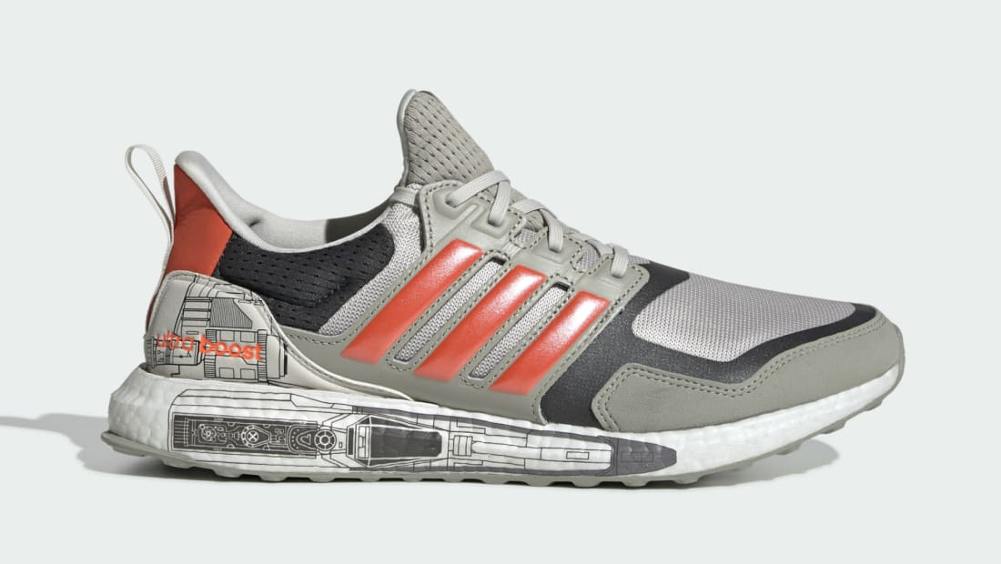 Star Wars x Adidas Ultraboost S&L Sesame/Active Orange/Carbon