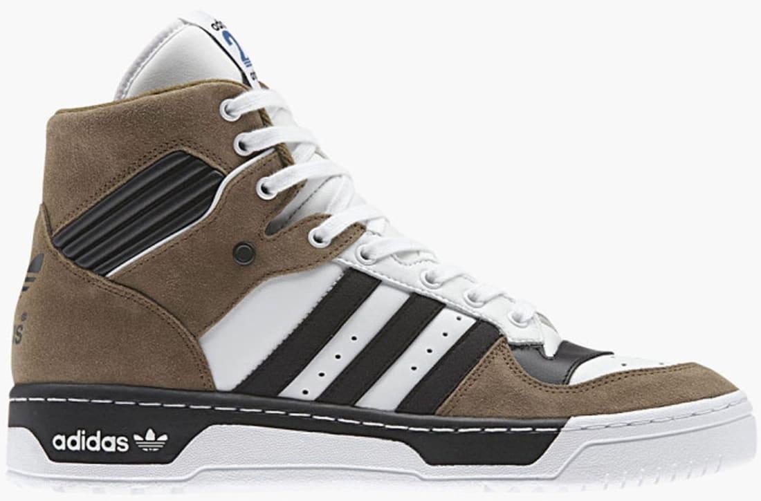 cuscús Diplomacia favorito  adidas Originals Rivalry Hi Flat White/Carbon Black-Brown | Adidas | Sole  Collector
