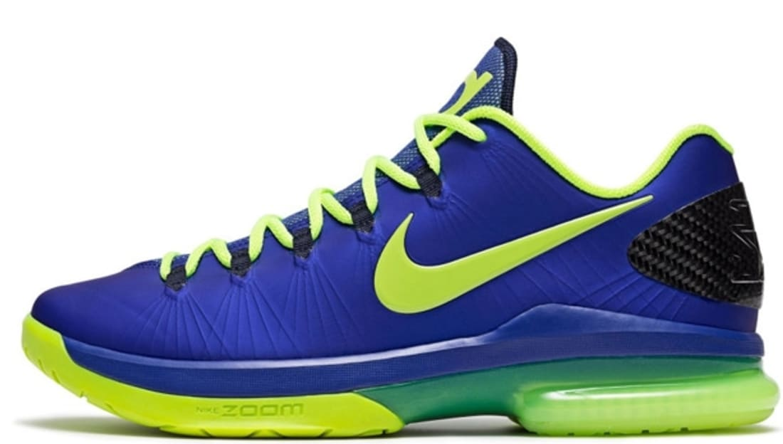 4834b4eef659 Nike KD 5 Elite Low Hyper Blue