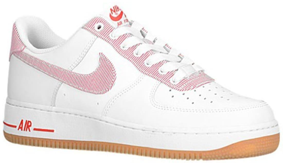 Nike Air Force 1 Low Sail/University Red-Gum Light Brown