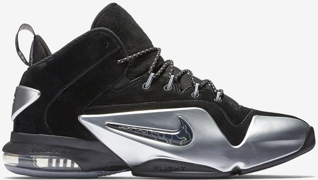 Nike Zoom Penny 6 Black/Metallic Silver