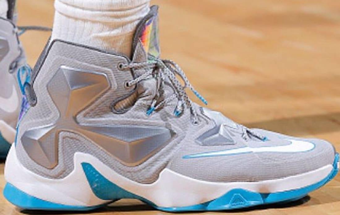 2d0726d8dbdd Nike LeBron 13 Wolf Grey Blue Lagoon